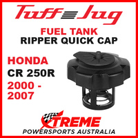 Honda CR250R CR 250R 2000-2007 Fuel Gas Tank Tuff Jug Quick Cap Black