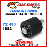 ALL BALLS 79-5001 MX LOWER CHAIN ROLLER 34mm YAMAHA YZ490 YZ 490 1982