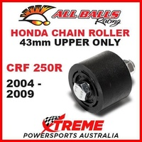 MX 43mm Upper Chain Roller Kit Honda CRF250R CRF 250R 2004-2009 Dirt Bike, All Balls 79-5007