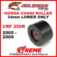 MX 34mm Lower Chain Roller Kit Honda CRF250R CRF 250R 2005-2009 Dirt Bike, All Balls 79-5015