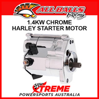 All Balls 80-1002 HD Dyna Super Glide Custom EFI FXDCI 2005 1.4kW Chrome Starter Motor