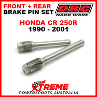 DRC Honda CR250R CR 250R 1990-2001 Front Rear Stainless Brake Pin Set D58-33-201