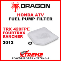 Whites TRX420FPE FOURTRAX RANCHER 2012 ATV HONDA FUEL PUMP FILTER SQUARE STYLE