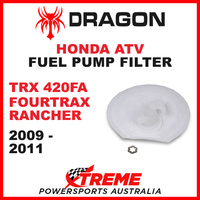 Whites TRX420FA FOURTRAX RANCHER 2009-2011 ATV HONDA FUEL PUMP FILTER