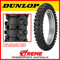 Dunlop Geomax Rear MX33 80/100-12 Mini MX Tyres Intermediate-Soft DMX3312080