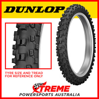 Dunlop Geomax Front MX33 60/100-14 Mini MX Tyres Intermediate-Soft DMX3314060