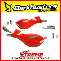 Barkbusters EGO Handguard Two Point Mount Straight 22mm Red EGO-001-00-RD