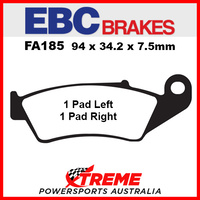 EBC Honda XR650R 2000-2008 Sintered Copper Front Brake Pad FA185R