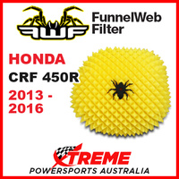 Funnelweb Honda CRF450R CRF-R 450 2013-2016 Off Road MX Foam Air Filter FWF478