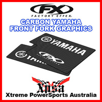 Factory Effex Yamaha YZF WRF 125-450 Front Fork Wrap Kit Carbon Fiber 06-38228