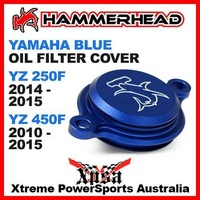 HAMMERHEAD BLUE OIL FILTER COVER YAMAHA YZ250F 2014-2015 YZ450F 2010-2015 MX