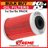 K&N Oil Filter 1,3,5x Buy for KTM 250 EXC-F 2007-2013 Replaces 77038005044