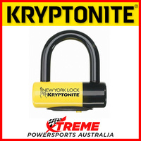 Kryptonite Security New York Disc Lock & Key + Reminder Cable & Pouch Motorcycle