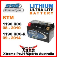 SSB SUPERBIKE ULTRALITE LITHIUM BATTERY KTM 1190 RC8 08-2010 RC8-R RC8R 09-2014