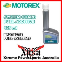 MOTOREX SYSTEM GUARD 125 ml FUEL ADDITIVE INJECTION GENUINE MX DIRT BIKE