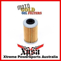 10 PACK MOTO GOLD OIL FILTERS KTM SX-F 250 SXF250 EXC-F 250 450 500 OF33 KN655