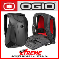 Ogio Mach 3 No Drag Street Bag Back Pack Black Stealth MX Motocross Dirt Bike
