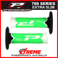 Progrip 788 Triple Density Extra Slim Green/Black Grips MX Dirt Bike Motorcycle