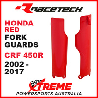 Rtech Honda CRF450R CRF 450R 2002-2018 Red Fork Guards Protectors