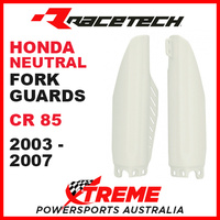 Rtech Honda CR85 CR 85R 2003-2007 Neutral Fork Guards Protectors