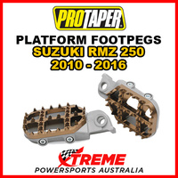 Pro Taper 02-3203 For Suzuki RM-Z250 2010-2016 2.3 Platform Footpegs