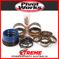 Fork Bushing, Oil/Dust Seals Kit Honda CR250R 2005-2007, Pivot Works PWFFK-H04-020