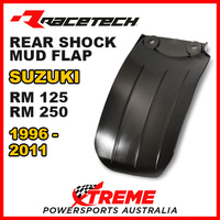 Rtech Black Suzuki RM125 96-11 Rear Shock Guard Mud Flap Plate R-PSPRM0NR000