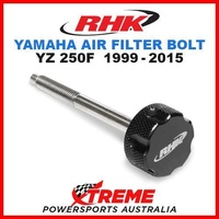 RHK MX BLACK AIR FILTER BOLT MOTO YAMAHA YZF 250 YZ250F YZ 250F 1999-2015 DIRT