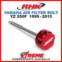 RHK MX RED AIR FILTER BOLT MOTO YAMAHA YZF 250 YZ250F YZ 250F 1999-2015 DIRTBIKE