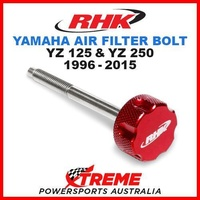 RHK MX RED AIR FILTER BOLT MOTO YAMAHA YZ125 YZ250 YZ 125 250 1996-2015 DIRTBIKE