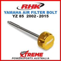 RHK MX GOLD AIR FILTER BOLT MOTO YAMAHA YZ 85 YZ85 85cc 2002-2015 MOTOCROSS BIKE