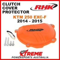 RHK MX FACTORY ORANGE CLUTCH COVER PROTECTOR GUARD KTM 250 EXCF EXC-F 2014-2015