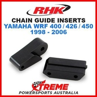 RHK WR 400F 426F 450F 98-06 REPLACEMENT CHAIN GUIDE BLOCK INSERT SLIDER RHK-CG05