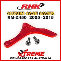 RHK MX OEM REPLACEMENT CASE SAVER RED For Suzuki RMZ 450 RM Z450 05-2015 MOTO DIRT