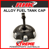 RHK Kawasaki KX250F KXF250 2004-2005 Black Alloy Fuel Tank Gas Cap, 56mm ID