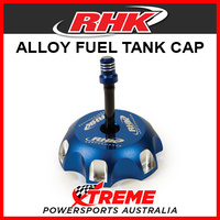 RHK Yamaha YZ250F YZF250 2003-2013 Blue Alloy Fuel Tank Gas Cap, 62mm OD