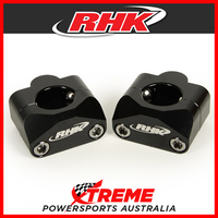 "RHK Black 1-1/8"" Tapered Handlebar 20mm Bar Riser Upgrade from 7/8"" Solid Style"