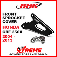 RHK Honda CRF250X CRF 250X 2004-2013 Front Alloy Sprocket Cover Black