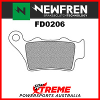 Newfren Aprilia 1200 Caponord Rally 15-17 Sintered Touring Rear Brake Pads FD0206-TS