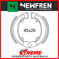 Newfren Rear Brake Shoe Honda ND 50 Melody 2 Delux 1982 GF1198