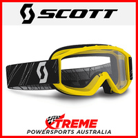 Scott 89Si Youth Yellow Goggles With Clear Lens Motocross Dirt Bike