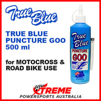 TRUE BLUE PUNCTURE GOO TYRE REPAIR PREVENTATIVE DIRT ROAD BIKE MOTOCROSS 500ml