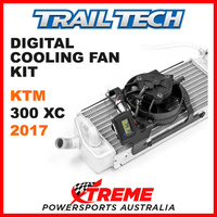 732-FN3 KTM 300XC 300 XC 2017 Trail Tech Digital Cooling Fan Kit