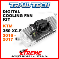 732-FN3 KTM 350XC-F 350 XC-F 2016-2017 Trail Tech Digital Cooling Fan Kit