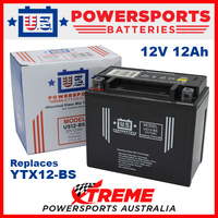 AGM 12V 12AH Battery for BOLWELL PGO SYM 250 FIRENZE 2006-2007 YTX12-BS
