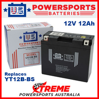 AGM 12V 12AH Battery for Ducati 1000 MONSTER S 2003-2006 YT12B