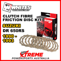 Whites For Suzuki DR650RS DR 650RS 1990-1993 Clutch Fibre Friction Disc Kit