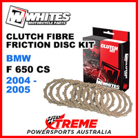 Whites BMW F650CS F650 CS 2004-2005 Clutch Fibre Friction Disc Kit