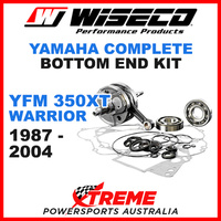 Wiseco Bottom End Kit YFM350XT Warrior 87-04 Crankshaft Gasket Bearing Seals