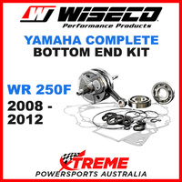 Wiseco Complete Bottom End Kit WR250F 08-12 Crankshaft Gasket Bearing Seals